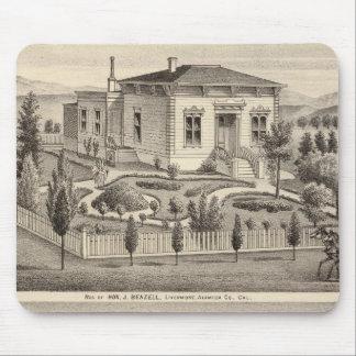 Beazell, English residences, farms Mouse Pad