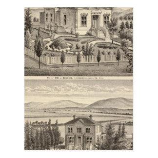 Beazell, English residences, farms Postcard