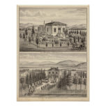 Beazell, English residences, farms Print