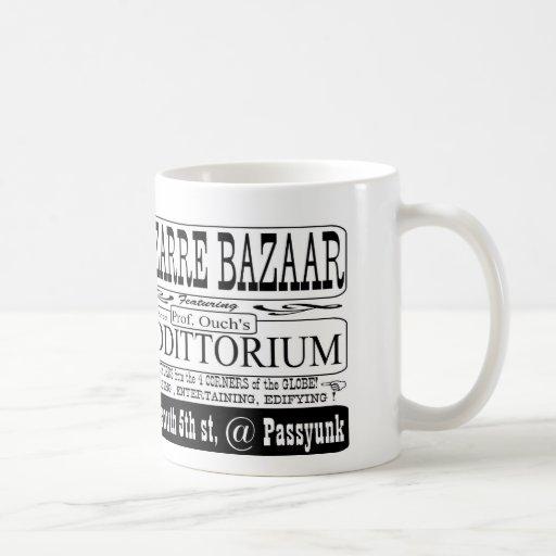 beba el coffe y el té del YER en la taza del oddit