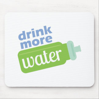 Beba más agua mousepad