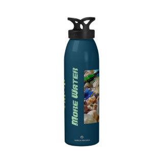 Beba más hidración de Seaglass del océano de las b Botellas De Agua Reutilizables