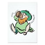 Bébalo su irlandés invitación 12,7 x 17,8 cm