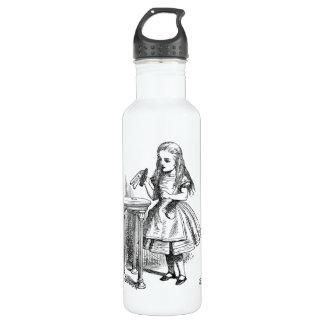 Bébame Alicia en botella de la bebida del país de