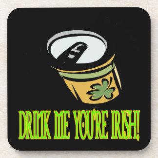 Bébame su irlandés posavasos