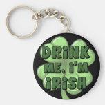 Bébame, yo son el irlandés 2 llavero