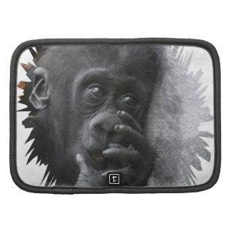 Bebé 001 del gorila organizadores