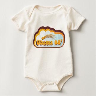 Bebé 08 de Obama Mameluco
