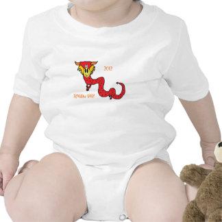 Bebé 2012 del dragón trajes de bebé