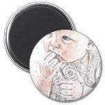 Bebé 2 de YouMa Imanes De Nevera