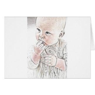 Bebé 2 de YouMa Tarjeta De Felicitación