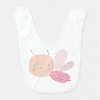 Bebé abeja chica baberos