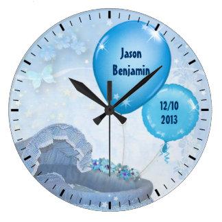 Bebé (adaptable) reloj redondo grande