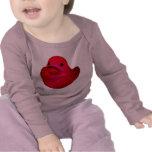 bebé afortunado t del pato camisetas