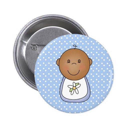 Bebé afroamericano pins
