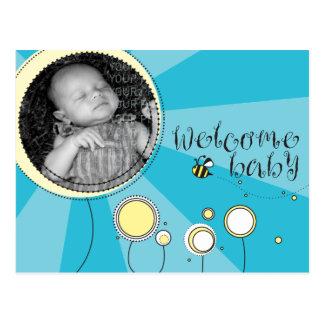 Bebé agradable postales