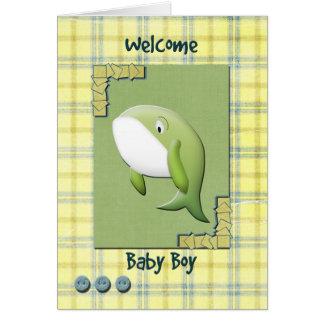 Bebé agradable tarjetas