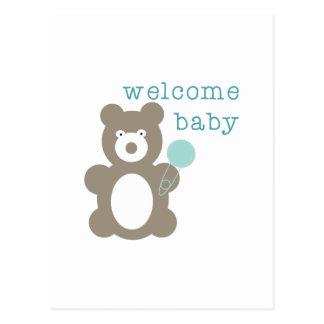 Bebé agradable postal