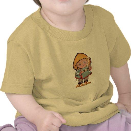 Bebé Aladdin y su lámpara Camisetas