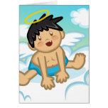 Bebé alegre: Tarjeta del ángel 2