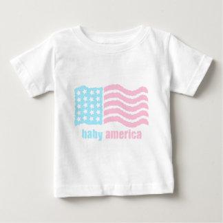 bebé América Playera