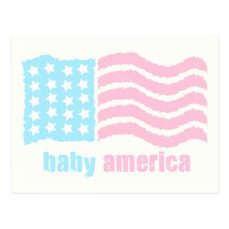 bebé América Tarjetas Postales