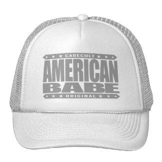 BEBÉ AMERICANO - orgulloso ser un patriota Gorras De Camionero