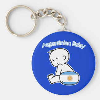 Bebé argentino llaveros personalizados