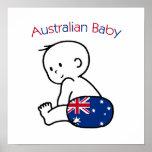 Bebé australiano impresiones
