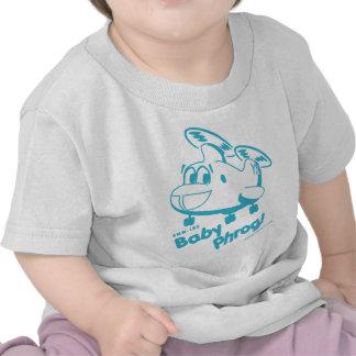 Bebé azul Phrog Camisetas