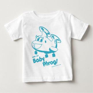 Bebé azul Phrog Playera De Bebé