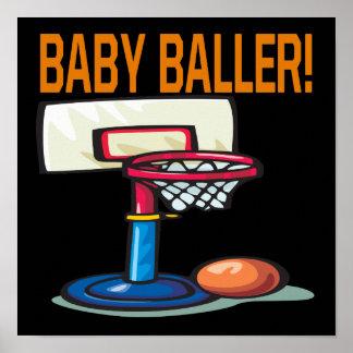 Bebé Baller Posters