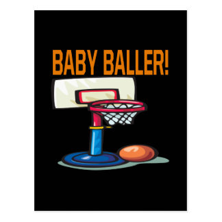 Bebé Baller Postales