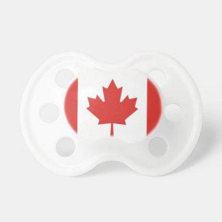 Bebé Bandera-Patriótico canadiense Chupetes Para Bebés