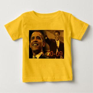 Bebé Barack Obama 1-20-09 Playera De Bebé