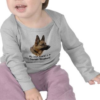 bebé Body perro pastor 01 Camiseta