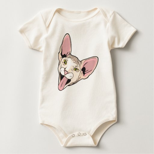 Bebé Boris el gato Body Para Bebé