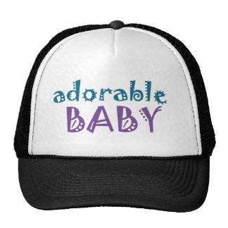 Bebé - camiseta adorable del bebé gorra