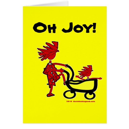 Bebé caprichoso tarjeta de felicitación