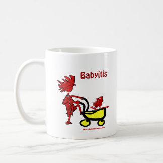 Bebé caprichoso taza