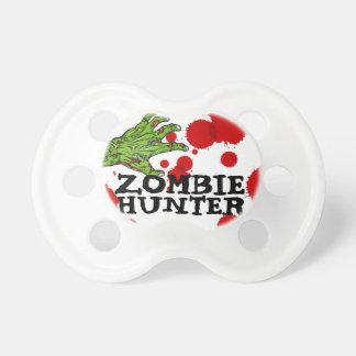 """""""Bebé chistoso del cazador del zombi"""" Chupetes De Bebe"""