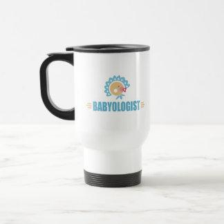 Bebé chistoso taza