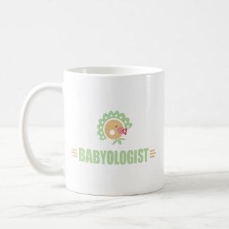 Bebé chistoso taza clásica