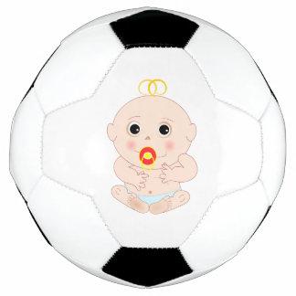Bebé con el dibujo animado del pacificador