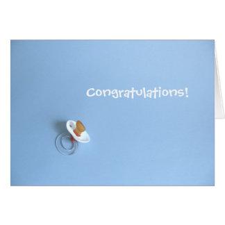 Bebé Congrats Tarjeta De Felicitación