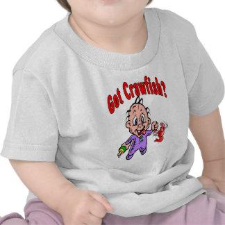 ¿Bebé conseguido de los cangrejos? Camiseta