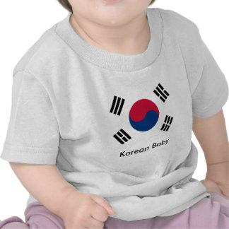 Bebé coreano camiseta