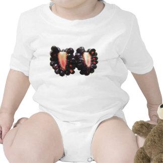 Bebé cortado T del de Blackberry Camiseta