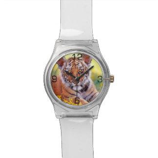 Bebé Cub del tigre Relojes De Pulsera