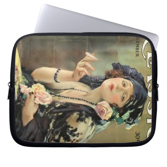 Bebe Daniels 1920 movie magazine Computer Sleeve